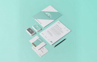 Grafica e branding: esempio di branding creativo per esaltare l'immagine del tuo business